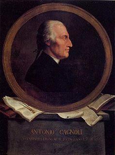 Antonio Cagnoli Italian astronomer