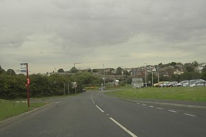 A63 road - Image: A642 and A63 Roundabout geograph.org.uk 225937