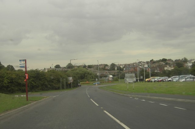 A642 and A63 Roundabout - geograph.org.uk - 225937