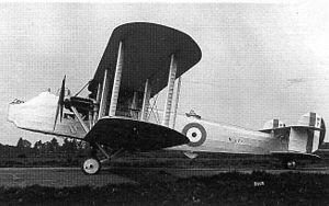 Avro 557 Ava - Image: A Ava