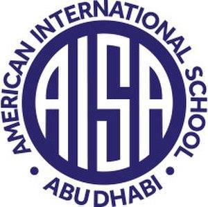 American International School, Abu Dhabi - The official school logo of American International School in Abu Dhabi