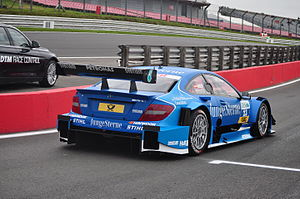 Roberto Merhi - Merhi at Brands Hatch during the 2012 DTM season.