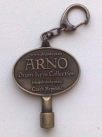 An Arno drum key ARNO DRUM KEYS COLLECTION Custom Drum Key.jpg