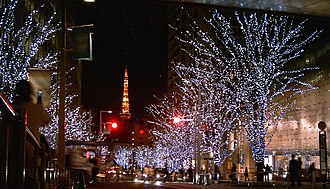 Christmas traditions - Christmas lights in Tokyo