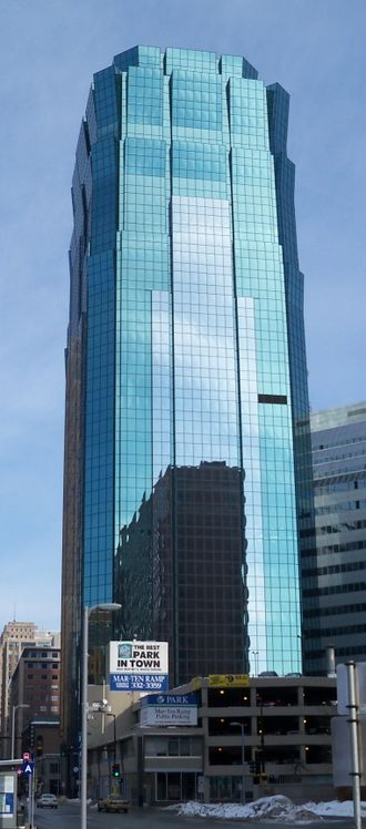 AT&T Tower (Minneapolis) - Image: AT&T Tower Minneapolis 1