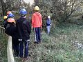 A London Wildlife Trust Volunteer Warden instructing a Headstart group in Gunnersbury Triangle.jpg