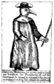 A Plague Doctor – from Jean-Jacques Manget, Traité de la peste (1721); WHO version.png