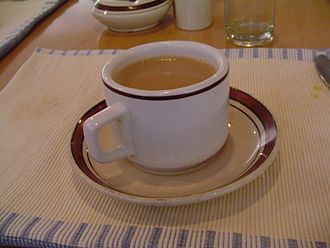 Masala chai - Unlike many teas, which are brewed in water with milk later added, traditional masala chai is often brewed directly in the milk.
