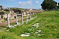 A short segment of the Roman main street paved with marble blocks and flanked by covered porticoes, Sardis (Lydia), Turkey (32050666881).jpg