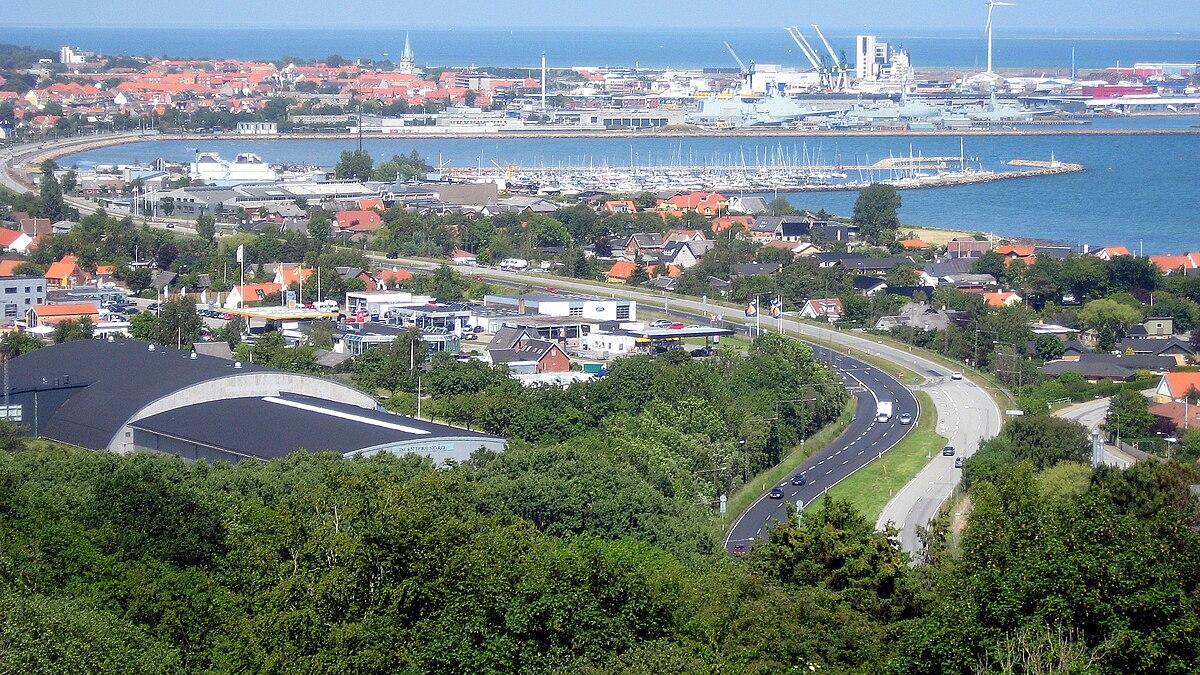 karta över fredrikshamn danmark Frederikshavn – Wikipedia karta över fredrikshamn danmark