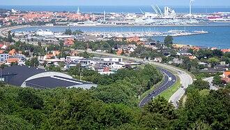 Frederikshavn - A view over Frederikshavn