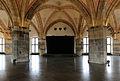 Aachen city hall, Nordseite mit Podium des Krönungssaales. .jpg