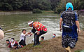 Abare mikoshi(120141012) Those who dropped into the pond.jpg