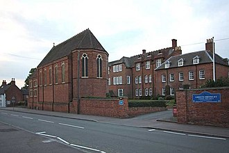 Abbots Bromley School - Image: Abbots Bromley School for Girls Chapel geograph.org.uk 928125