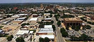 Downtown Abilene in 2015
