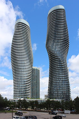 Absolute World - Image: Absolute Towers Mississauga. South west view