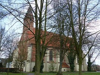 Lilienthal, Lower Saxony - Image: Abteikirche Lilienthal von SW