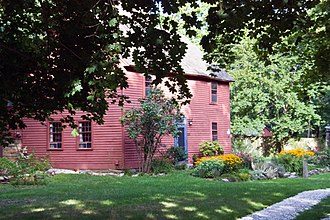 National Register of Historic Places listings in New Haven County, Connecticut - Image: Acadianhouse guilfordct