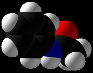 Acetanilide - Image: Acetanilide Space Fill
