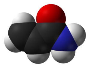 Acrylamide - Image: Acrylamide MW 2000 3D vd W