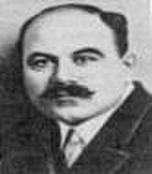Iosif Adamovich - Image: Adamovich