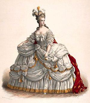 Adelaide Ristori - Image: Adelaide Ristori in Paolo Giacometti's Maria Antonietta, Regina di Francia