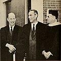 Adlai E. Stevenson, Dr. Nelson Glueck, and Norman S. Rabb 1961.jpg
