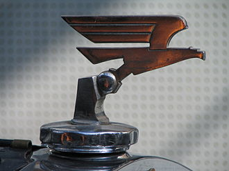 Adler (cars and motorcycle) - Hood ornament Adler Standard 6