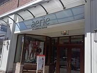 a9bb673b238 ... (American Eagle Outfitters). Aerie store in the SouthSide Works area of  Pittsburgh.