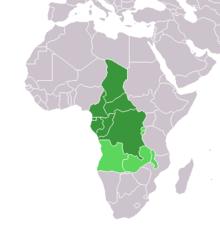 Carte De Lafrique Centrale Pdf.Afrique Centrale Wikipedia