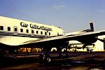 Air Atlantique DC-6F G-SIXC at CVT (15955943498).jpg