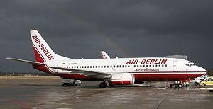 Air Berlin D-ADIH (Boeing 737-300) in Berlin T...