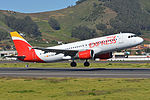Airbus A320-214 'EC-MCB' Iberia Express (25108874426).jpg