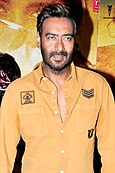 Ajay Devgn promoting his 2009 film, All the Best.