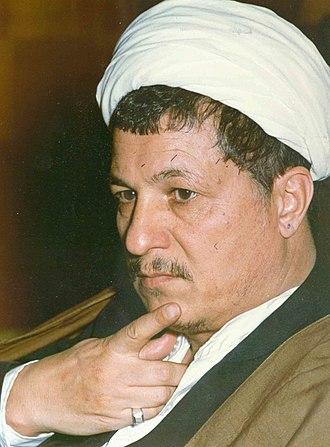 Iranian presidential election, 1993 - Image: Akbar Hashemi Rafsanjani Portrait (5)