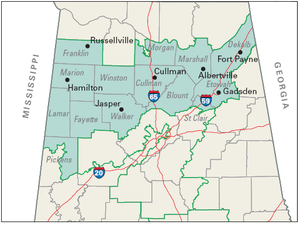 United States House of Representatives elections in Alabama, 2008 - Image: Alabama 4th