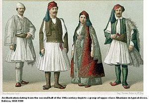 Names of the Albanians and Albania - Albanians in the 19th century