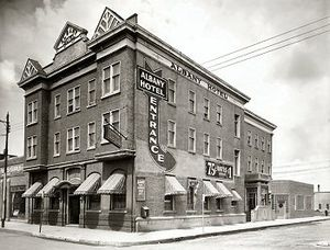 Riversdale, Saskatoon - The Albany Hotel in the late 1930s