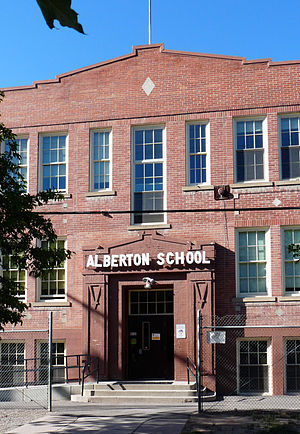 National Register of Historic Places listings in Mineral County, Montana - Image: Alberton School (2013)