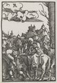 Albrecht Altdorfer - The Fall and Redemption of Man- The Flight into Egypt - 1952.42.c - Cleveland Museum of Art.tif