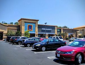 Aldi - New style of Aldi Süd in Simi Valley, CA, USA