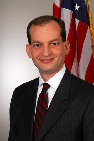 Alexander Acosta - Acosta as Assistant Attorney General