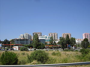 Amadora - Apartment blocks in the parish of Alfragide
