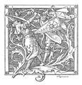 Alfred Rethel - Die Nibelungen 06 Wie Iring erschlagen ward.jpg