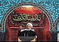 Alireza Panahian in Funeral of Mohsen Hojaji in Tehran 01 (2).jpg