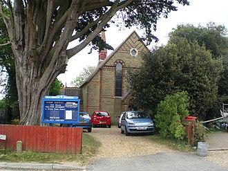 All Saints' Church, Gurnard - All Saints' Church, Gurnard.