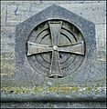 All Saints, Selsley, Gloucestershire ... cross on the east wall. - Flickr - BazzaDaRambler.jpg
