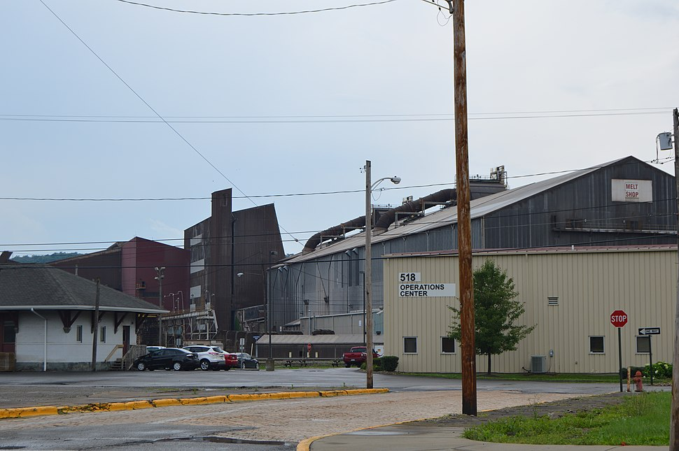 Allegheny Technologies mill at Midland