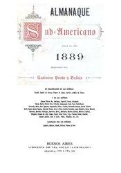 Almanaque sud-americano para el año 1889