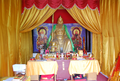 Altar to Guandi inside a temple in Linyi, Shandong, China.png